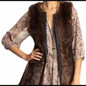 Sanctuary Faux Fur Vest XS